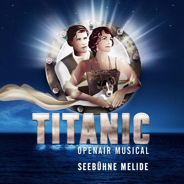 Titanic - Il Musical auf der Seebühne Melide