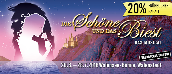 Musical Tickets - Preise und Rabatte der Walensee-Bühne