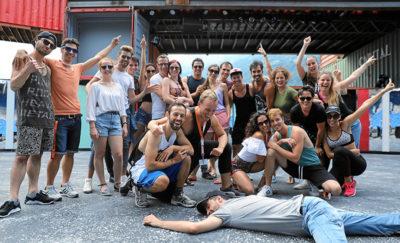 Profidarsteller auf der Walensee-Bühne