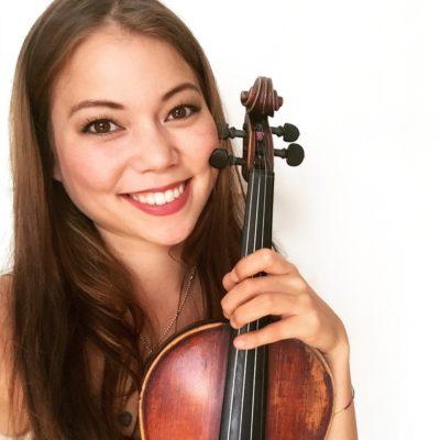 Olivia Momoyo Resch, Violine