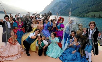 Muscialdarsteller Die Schöne und das Biest am Walensee