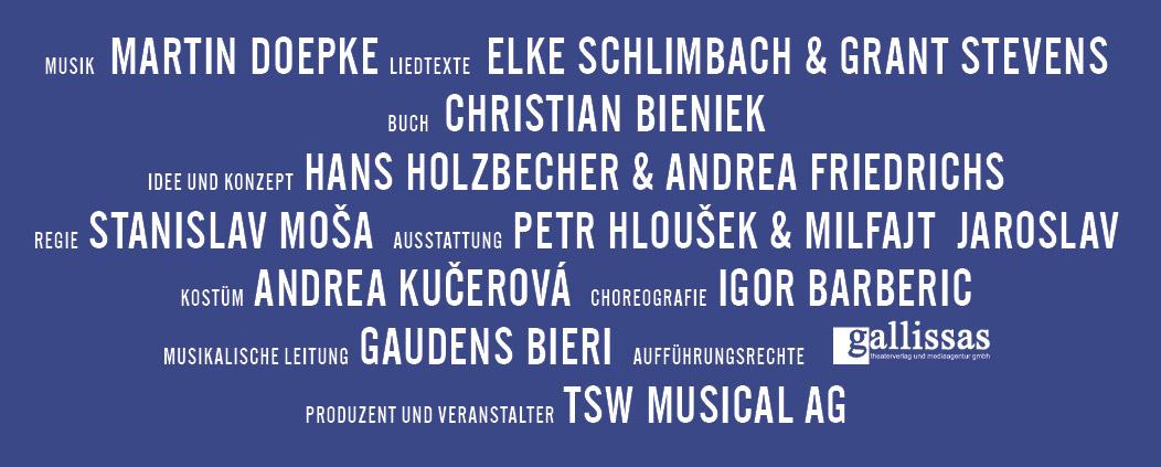 Credits Die Schöne und das Biest - Das Musical
