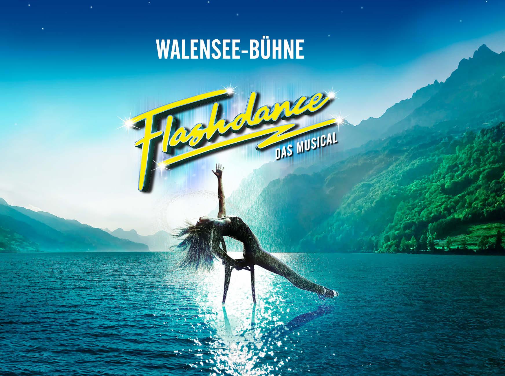 Flashdance - Das Musical vom 17. Juni bis 25. Juli 2020 auf der Walensee-Bühne